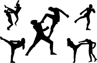 martial arts muay thai kickboxing courtesy of Pixabay.com