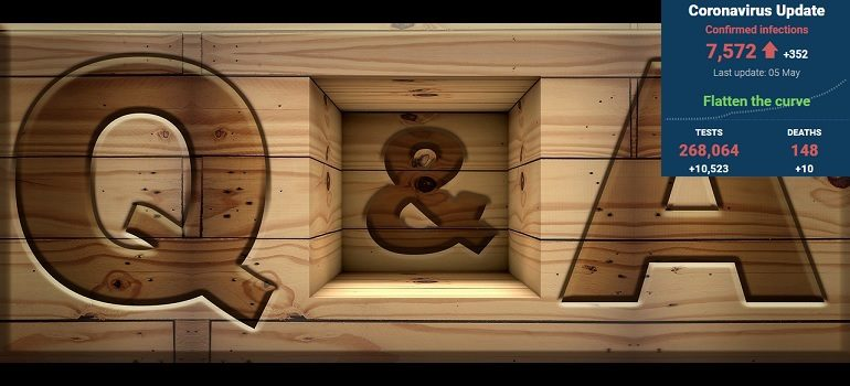 q-and-a-question-answer-q-sign by Jose R Cabello courtesy of Pixabay with SA covid-19 stats 5 May 2020