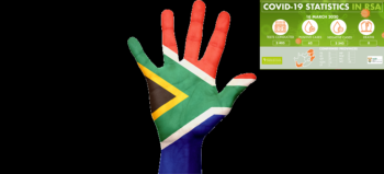 south-africa-flag-hand-pride by Kurious courtesy of Pixabay with NICD covid-19 stats