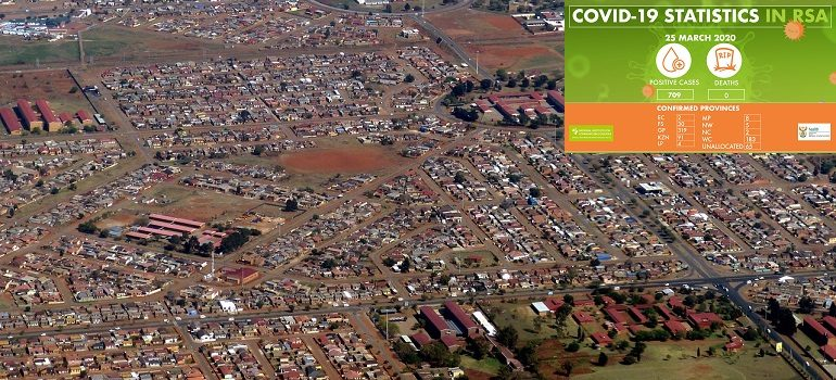 south-africa-johannesburg-township by falco courtesy of Pixabay with NICD covid-19 stats 25 March 2020